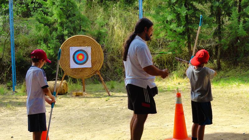 actividades ocio y tiempo libre, tiro con arco