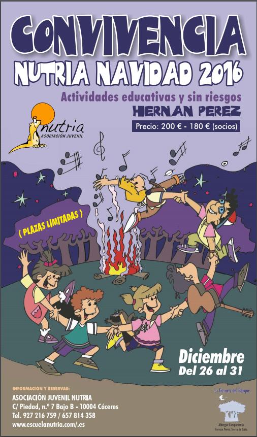 Escuela del Bosque, Asociación Juvenil Nutria Navidad